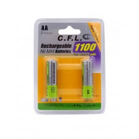 باتری قلمی قابل شارژ 1100mAh دوتایی مارک Digital C.F.L