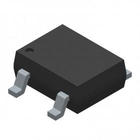پل دیود 1000V-2A مربعی DB207S پکیج SMD