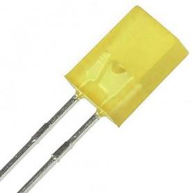 LED تخت مات زرد 2x5