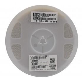 خازن 10nF 1KV پکیج 1206 SMD رول3000 عددی