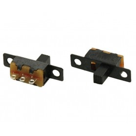 کلید دوحالته کشویی 3 پین پیچ خور کد SS12F15