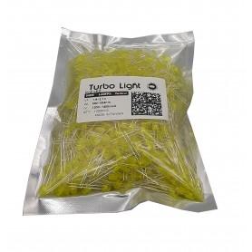 LED اوال 5mm زرد مرغوب تایوانی مارک Turbo Light