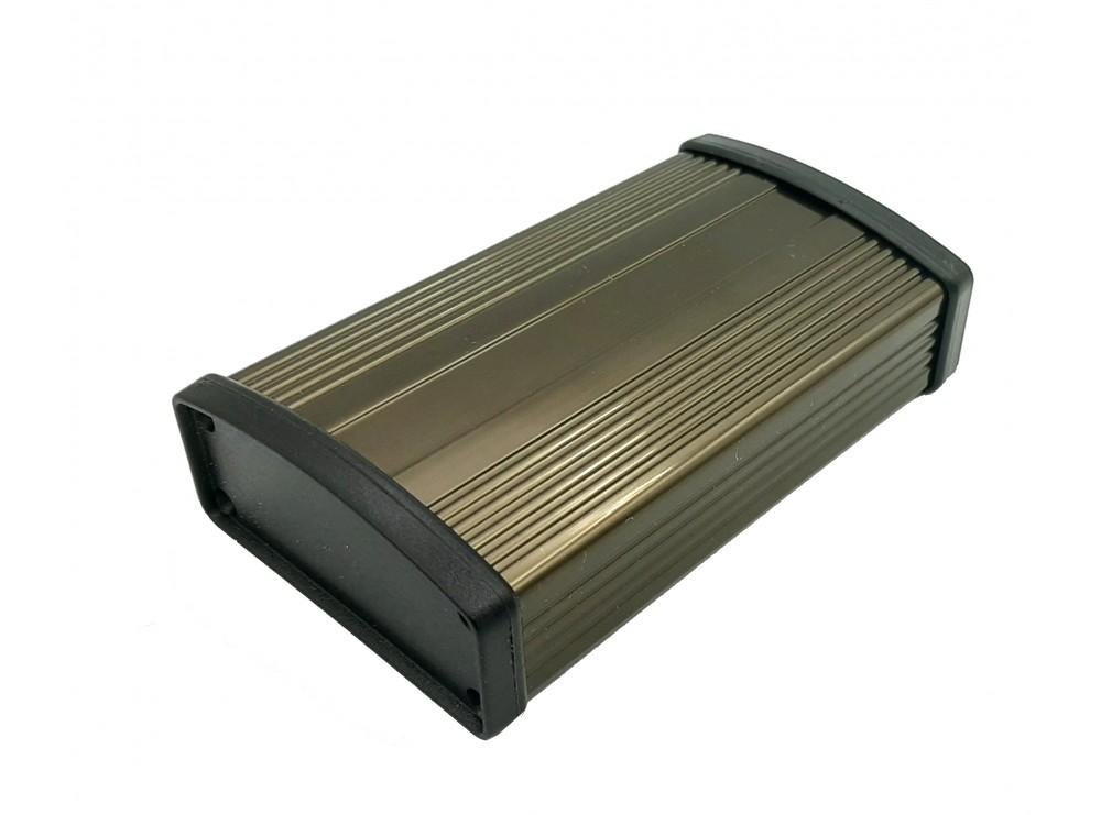 جعبه برد آلومینیومی رادیاتی سایز 100x57x22mm
