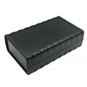 جعبه برد پلاستیکی چهار تکه مشکی مدل BMD سایز 164x100x51mm