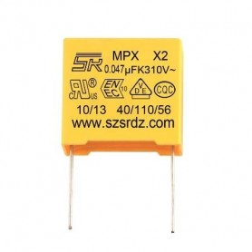 خازن 47nF / 275V MKT کلاس X2 بسته 5 تایی