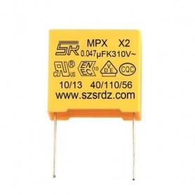 خازن 47nF / 275V MKT کلاس X2