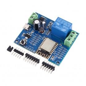 ماژول رله تک کاناله با قابلیت کنترل WIFI 2.4G توسط موبایل مبتنی بر ESP-12F