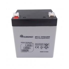 باتری خشک 12 ولت 5 آمپر ساعت مارک Euronet