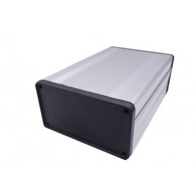 جعبه برد آلومینیومی چهار تکه BAD نقره ای سایز 140x53x96mm