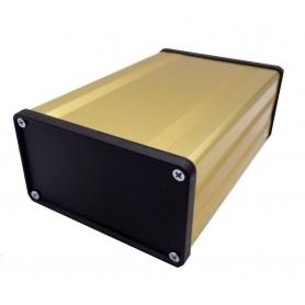 جعبه برد آلومینیومی چهار تکه BAD طلایی سایز 140x53x96mm