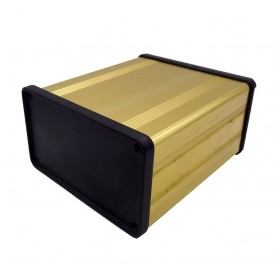 جعبه برد آلومینیومی چهار تکه BAD طلایی سایز 100x53x96mm