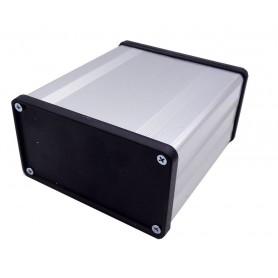 جعبه برد آلومینیومی چهار تکه BAD نقره ای سایز 100x53x96mm