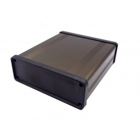 جعبه برد آلومینیومی دو تکه BAD بژ سایز 100x33x96mm