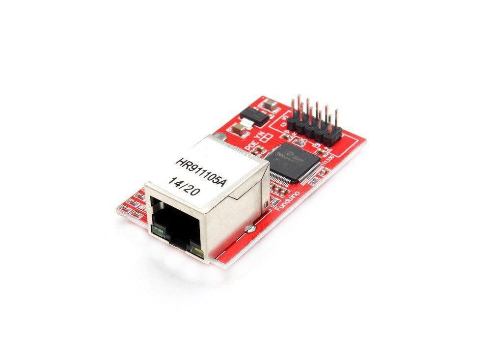ماژول شبکه W5100 دارای ارتباط SPI