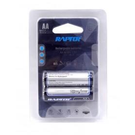 باتری قلمی قابل شارژ 1100mAh دوتایی مارک Raptor