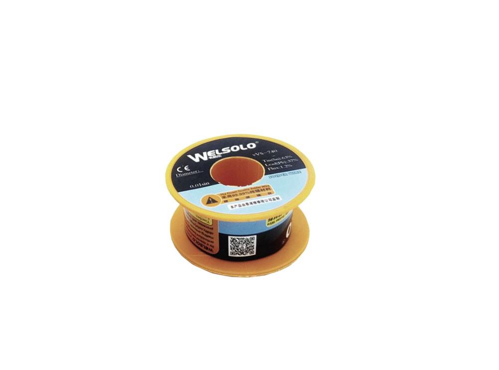 سیم لحیم 0.5mm 45gr مارک Welsolo