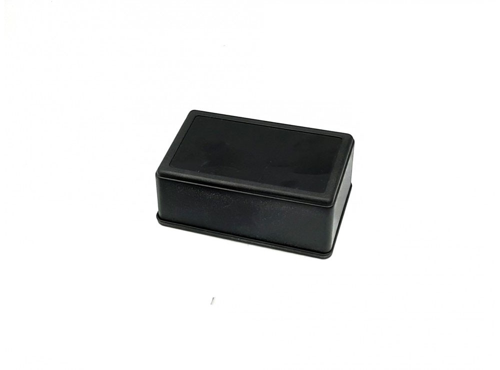جعبه برد پلاستیکی مشکی مدل BMD-A1 سایز 105x65x40mm