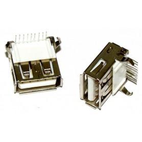 کانکتور USB-A روبردی مادگی 9pin بسته 100 تایی