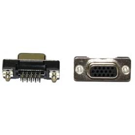 کانکتور DB15 سه ردیفه VGA مادگی روپنلی