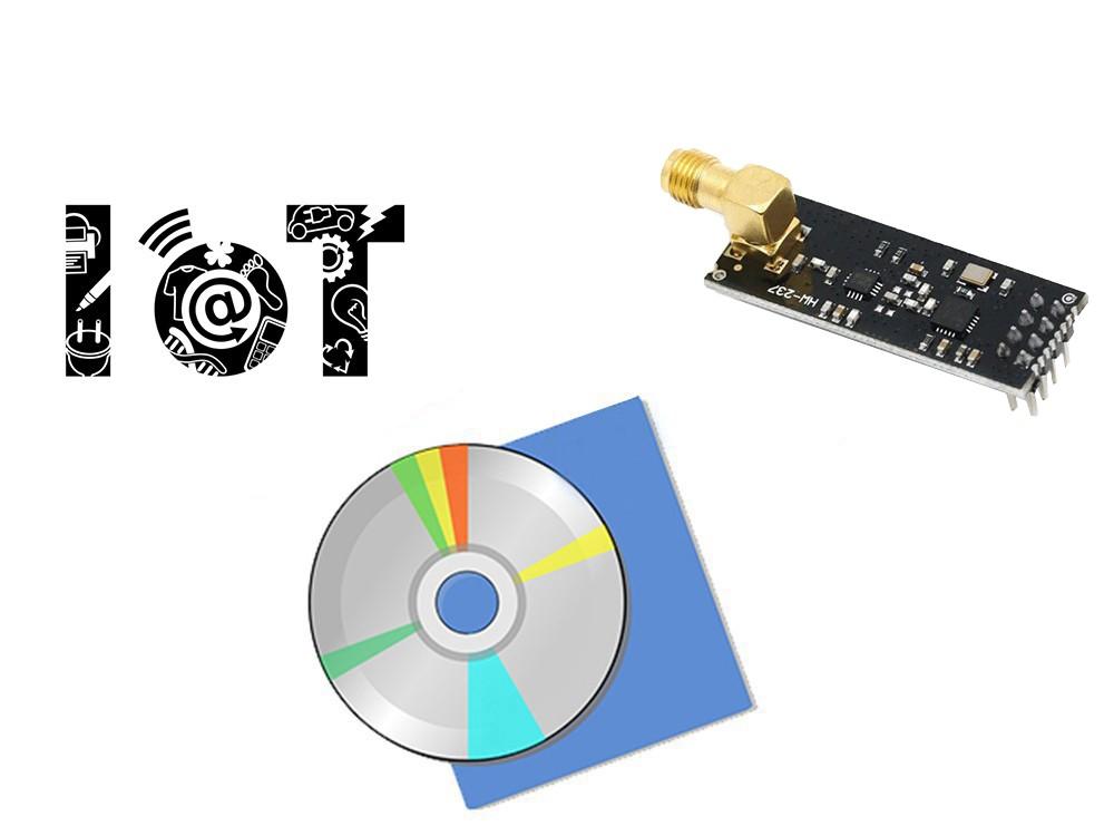مجموعه جامع و پیشرفته کنترل لوازم توسط ارتباطات رادیویی با ماژول NRF24L01+