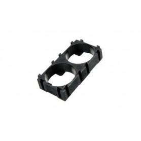 براکت پلاستیکی 2 تایی نگهدارنده باتری های لیتیوم یون 18650