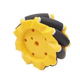 جفت چرخ ربات مایل OMNI قطر 80mm