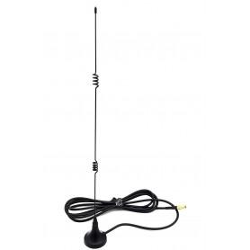 آنتن GSM/GPRS رومیزی مگنتی 25cm با کانکتور SSBB مادگی طول کابل 1.5m