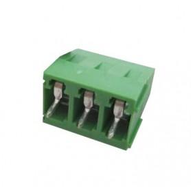 ترمینال پیچی مدل KF128-3Pin رنگ سبز