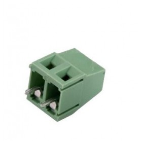 ترمینال پیچی مدل KF128-2Pin رنگ سبز