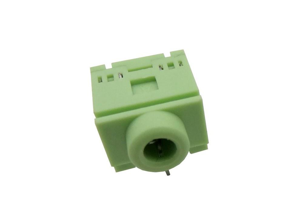 جک هدفن 3.5mm استریو - سبز