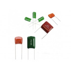 خازن پلی استر 1uF / 450V / 10%