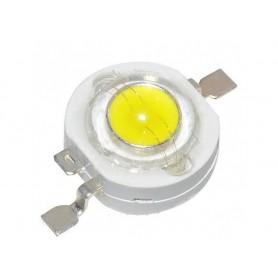 LED POWER 1W سفید مهتابی 160- 140 لومن چیپ بزرگ