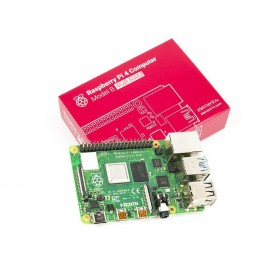 برد رزبری پای Raspberry Pi 4 مدل B تولید انگلستان با رم 4GB