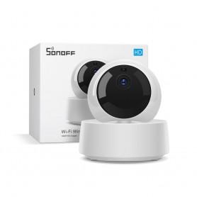 دوربین هوشمند وای فای SONOFF مدل GK-200MP2-B به همراه آداپتور