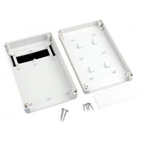 جعبه برد پلاستیکی سفید دیواری با پنل LCD مدل BMW-A سایز 168x107x42mm