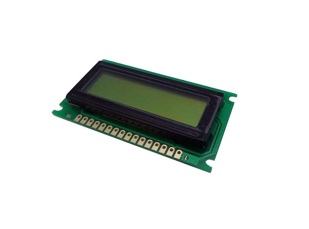 نمایشگر کاراکتری 1x8 LCD بدون بک لایت