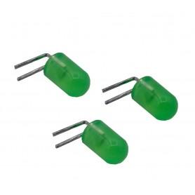 LED رایت سبز مات 5mm