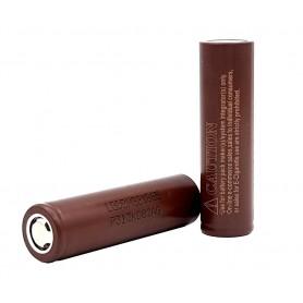 باتری لیتیوم یون 3.6v سایز 18650 3000mAh طرح مارک LG