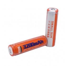 باتری لیتیوم یون 3.7v سایز 18650 3200mAh مارک Small Sun