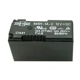 رله 12V مینیاتوری 4 پایه 12A تایوانی مارک SONG CHUAN کد 845H-1A-C
