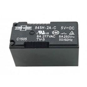 رله 5V مینیاتوری 6 پین تایوانی مارک SONG CHUAN کد 845H-2A-C