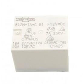 رله 12V تایوانی 4 پین مارک SONG CHUAN کد 812H-1A-C