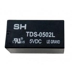 رله 5V مینیاتوری 8 پایه تایوانی مارک SUN HOLED کد TDS-0502L
