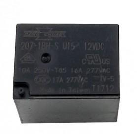 رله 12V مینیاتوری 4 پایه تایوانی مارک SONG CHUAN کد 207I-1BH-S