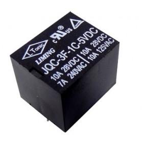 رله 5V پایه میلون T73 مارک LIMING کد JQC-3F-1C-5VDC