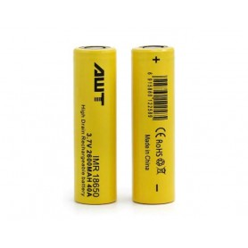 باتری لیتیوم یون 3.7v سایز 18650 2600mAh مارک AWT مدل IMR18650 40A
