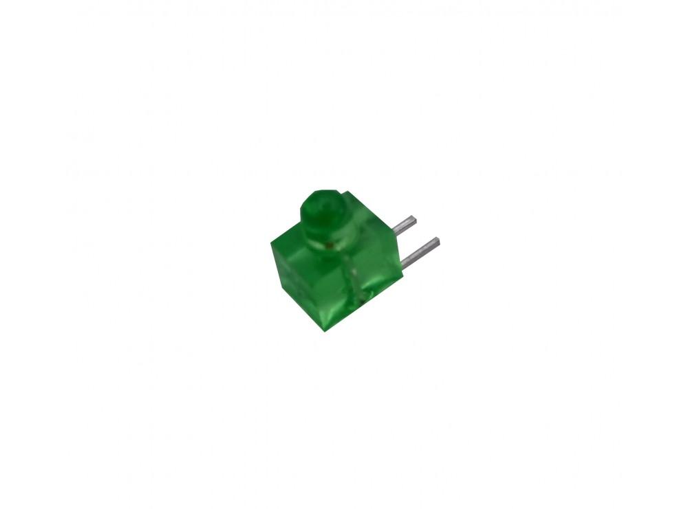 LED سبز رایت پنلی 3mm مات