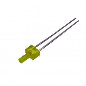 LED زرد پنلی 2mm مات