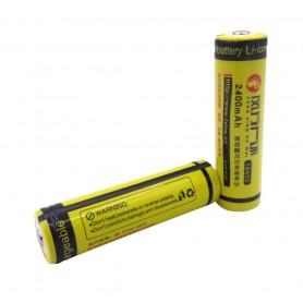باتری لیتیوم یون 3.7v سایز 18650 2400mAh مارک FXHW