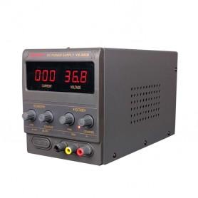 منبع تغذیه دیجیتال 0 تا 30 ولت 5 آمپر YAXUN مدل YX-305D